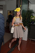 OLGA ROLT, Ladies Day, Glorious Goodwood. Goodwood. August 2, 2012