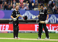 Cricket - 2019 ICC Cricket World Cup - Group Stage: New Zealand vs. South Africa<br /> <br /> New Zealand's Kane Williamson celebrates scoring his century, at Edgbaston, Birmingham.<br /> <br /> COLORSPORT/ASHLEY WESTERN