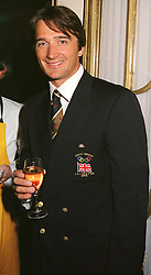 British Olympic skier GRAHAM BELL, at a reception in <br /> London on 26th April 2000.ODB 227