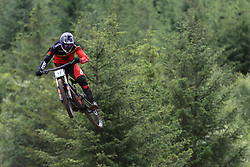 Faustin Figaret of Radon Factory Downhill Team during day two of the 2017 UCI Mountain Bike World Cup at Fort William. PRESS ASSOCIATION Photo. Picture date: Sunday June 4, 2017. Photo credit should read: Tim Goode/PA Wire. RESTRICTIONS: Editorial use only, no commercial use without prior permission