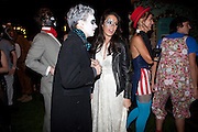 GALA GORDON; FRANK HESKETH, 18th birthday party for Ruby Boglione. Petersham House. London. 4 September 2010. -DO NOT ARCHIVE-© Copyright Photograph by Dafydd Jones. 248 Clapham Rd. London SW9 0PZ. Tel 0207 820 0771. www.dafjones.com.