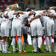 Eskisehirspor's players during their Turkish Super League soccer match Galatasaray between Eskisehirspor at the TT Arena at Seyrantepe in Istanbul Turkey on Monday, 26 September 2011. Photo by TURKPIX