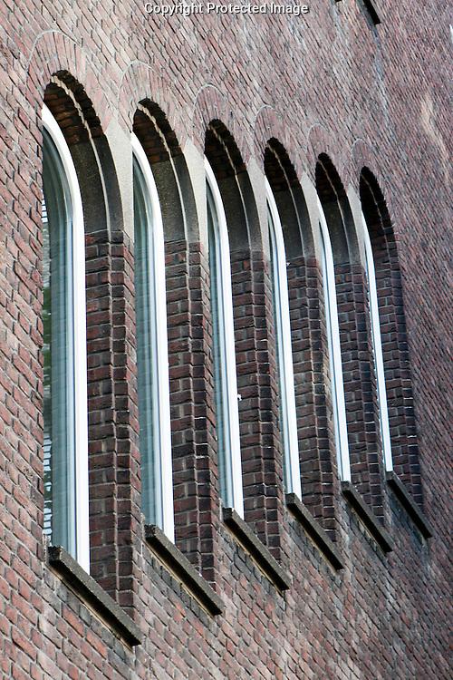 Windows in Rotterdam, Holland.
