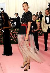 Maria Sharapova attending the Metropolitan Museum of Art Costume Institute Benefit Gala 2019 in New York, USA.