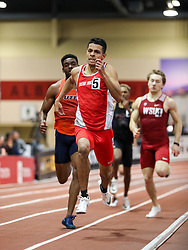 Don Kirby Invitational Indoor Track & Field<br /> Albuquerque, NM, Feb 14, 2020<br /> mens 400m, New Mexico