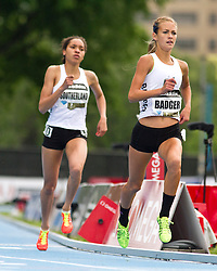 adidas Grand Prix professional track & field meet: high school girls Dream Mile, Badger