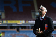 Crystal Palace Manager Alan Pardew looks around the stadium prior to kick off. Premier League match, Burnley v Crystal Palace at Turf Moor in Burnley , Lancs on Saturday 5th November 2016.<br /> pic by Chris Stading, Andrew Orchard sports photography.