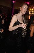 Charlotte Wheeler, The Black and White Winter Ball. Old Billingsgate. London. 8 February 2006. -DO NOT ARCHIVE-© Copyright Photograph by Dafydd Jones 66 Stockwell Park Rd. London SW9 0DA Tel 020 7733 0108 www.dafjones.com