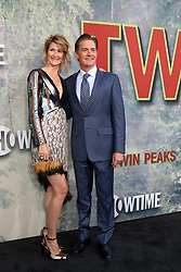 May 19, 2017 - Los Angeles, CA, USA - LOS ANGELES - MAY 19:  Laura Dern, Kyle MacLachlan at the ''Twin Peaks'' Premiere Screening at The Theater at Ace Hotel on May 19, 2017 in Los Angeles, CA (Credit Image: © Kay Blake via ZUMA Wire)