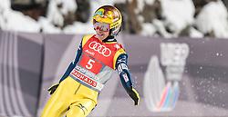 06.01.2016, Paul Ausserleitner Schanze, Bischofshofen, AUT, FIS Weltcup Ski Sprung, Vierschanzentournee, Bischofshofen, Finale, im Bild Noriaki Kasai (JPN) // Noriaki Kasai of Japan reacts after his final jump of the Four Hills Tournament of FIS Ski Jumping World Cup at the Paul Ausserleitner Schanze in Bischofshofen, Austria on 2016/01/06. EXPA Pictures © 2016, PhotoCredit: EXPA/ JFK