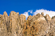Ridgeline and sky, the Palisades, John Muir Wilderness, California