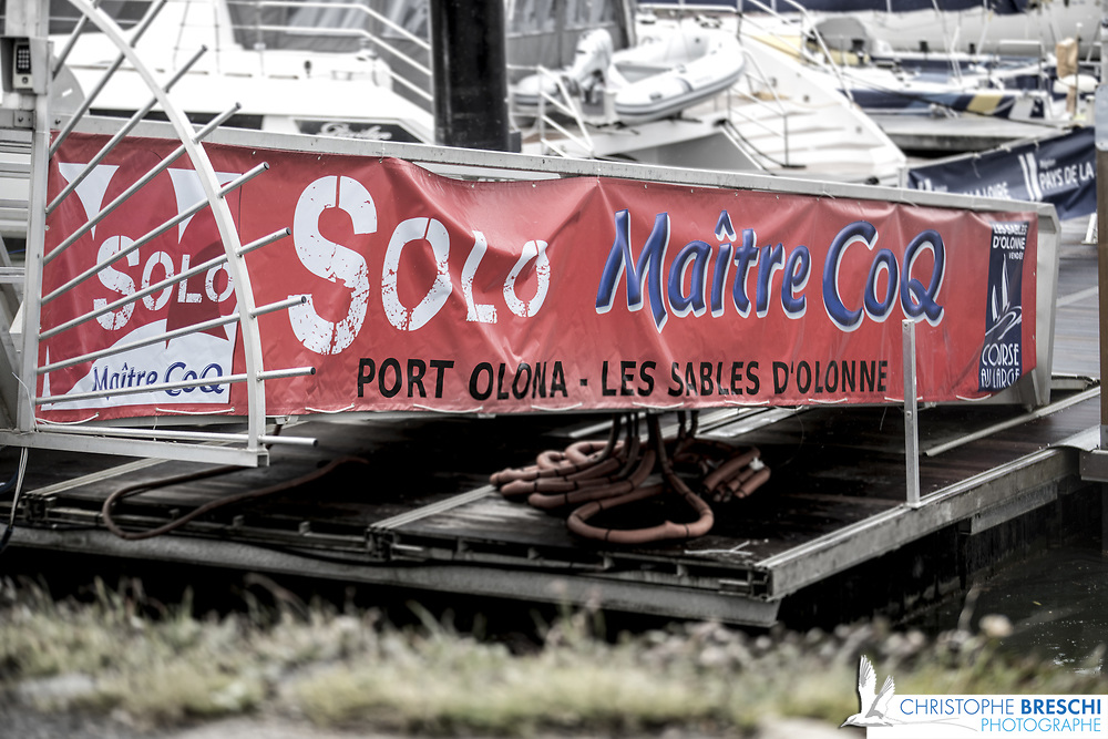 Course de la Class Figaro organisée par Les Sables d'Olonne Course au Large.