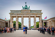 The Duke and Catherine Duchess of Cambridge visit germany day 1