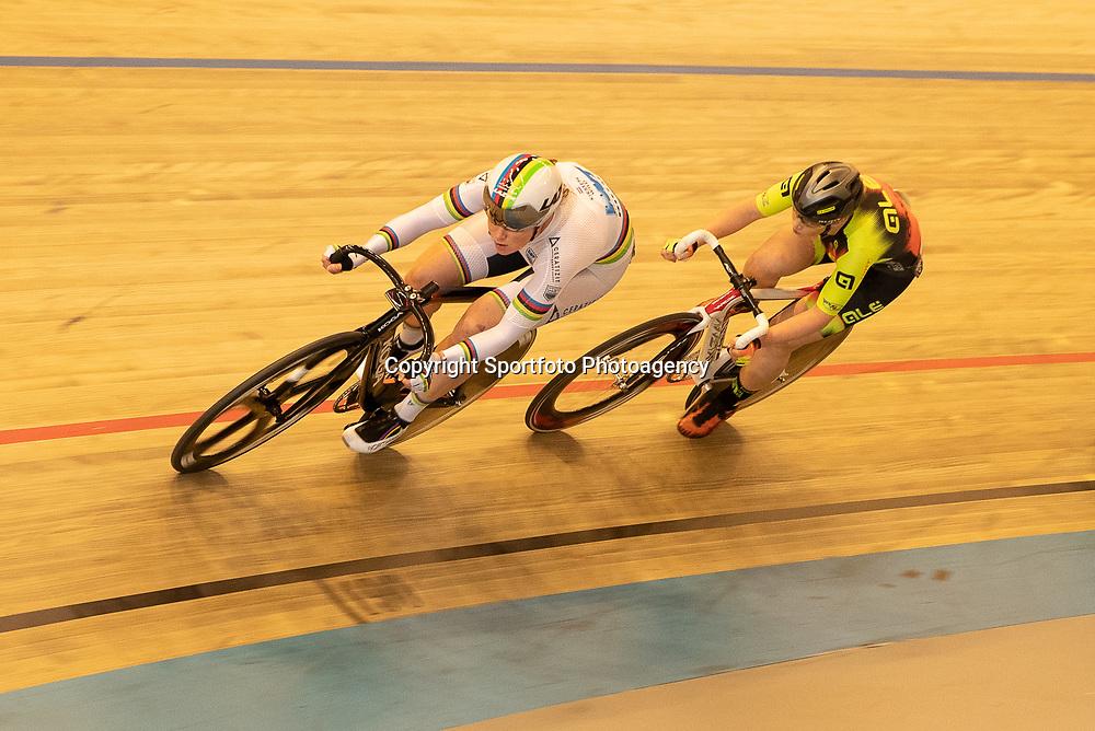22-12-2019: Wielrennen: NK Baan Omnium: Apeldoorn <br />Kirsten Wild, Marjolein van t Geloof