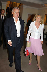 PAUL & ALISON MYNERS at auctioneers Sotheby's Summer party held at their showrooms in 34-35 New Bond Street, London W1 on 6th June 2005.<br />