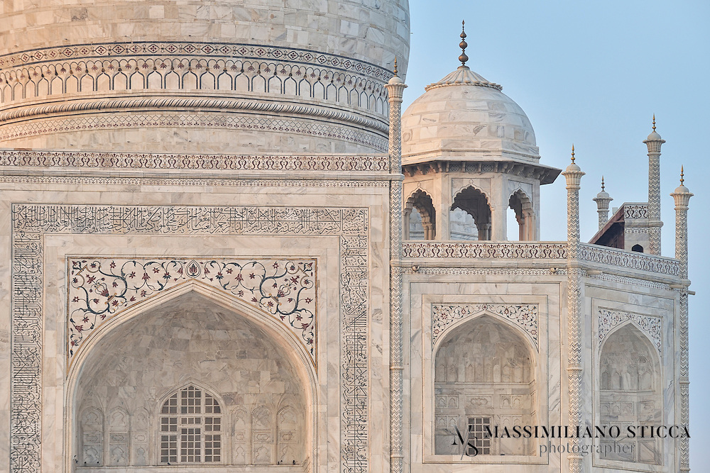 In 1631, Shah Jahan, emperor during the Mughal empire's period of greatest prosperity, was grief-stricken when his third wife, Mumtaz Mahal, died during the birth of their 14th child, Gauhara Begum.Construction of the Taj Mahal began in 1632. The court chronicles of Shah Jahan's grief illustrate the love story traditionally held as an inspiration for Taj Mahal. The principal mausoleum was completed in 1648 and the surrounding buildings and garden were finished five years later.