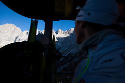 Training camp of Slovenian Cross country Ski team on October 23, 2012 in Dachstein Getscher, Austria. (Photo By Vid Ponikvar / Sportida)