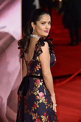 Salma Hayek attending The Fashion Awards 2016 at The Royal Albert Hall in London. <br /> <br /> Picture Credit Should Read: Doug Peters/ EMPICS Entertainment