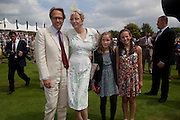 THE EARL OF MARCHL; COURTNEY LOVE;LADY ELOISE GORDON-LENNOX;, MIA SELMAN; , Glorious Goodwood. Ladies Day. 28 July 2011. <br /> <br />  , -DO NOT ARCHIVE-© Copyright Photograph by Dafydd Jones. 248 Clapham Rd. London SW9 0PZ. Tel 0207 820 0771. www.dafjones.com.
