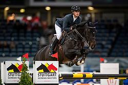 MARSCHALL Marcel (GER), Utopia 48<br /> Stuttgart - German Masters 2018<br /> Eröffnungsspringen<br /> 15. November 2018<br /> © www.sportfotos-lafrentz.de/Stefan Lafrentz