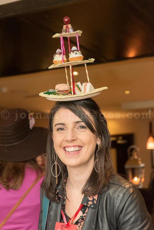 REPRO FREE<br /> Karen McCarthy, Kinsale pictured at the 42nd Kinsale Gourmet Festival Mad Hatters Taste of Kinsale.<br /> Picture. John Allen