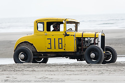 Paul Kramer in his Ford at TROG (The Race Of Gentlemen). Wildwood, NJ. USA. Saturday June 9, 2018. Photography ©2018 Michael Lichter.