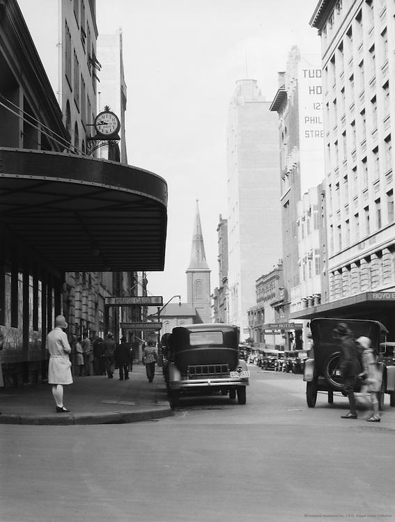 Philip Street, Sydney, Australia, 1930