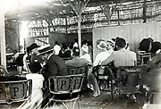 Moroccan bar with Western people 1930s