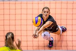 24-08-2017 NED: World Qualifications Belgium - Slovenia, Rotterdam<br /> Valerie Courtois #4 of Belgium<br /> Photo by Ronald Hoogendoorn / Sportida