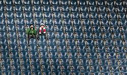 11.03.2016, Red Bull Arena, Salzburg, AUT, 2. FBL, FC Liefering vs SV Austria Salzburg, 22. Runde, im Bild zwei Zuschauer auf den Raengen // during the 2nd Austrian Bundesliga 22th round match between FC Liefering and SV Austria Salzburg at the Red Bull Arena in Salzburg, Austria on 2016/03/11. EXPA Pictures © 2016, PhotoCredit: EXPA/ JFK