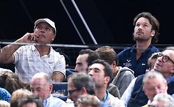 November 1, 2017 - Paris, France - Toni Nadal ( entraineur ) / Carlos Moya  (Credit Image: © Panoramic via ZUMA Press)
