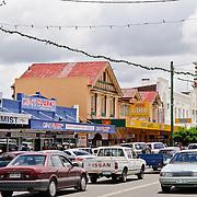 Main street in downtown Stanthorpe, Queensland
