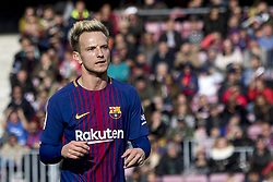 December 2, 2017 - Barcelona, Catalonia, Spain - Ivan Rakitic during the spanih league match between FC Barcelona and RC Celta de Vigo at the Camp Nou Stadium in Barcelona, Catalonia, Spain  (Credit Image: © Miquel Llop/NurPhoto via ZUMA Press)