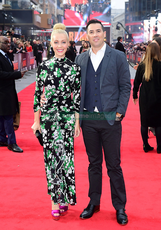 Breanne Parhiala and director Brad Peyton attending the European premiere of Rampage, held at the Cineworld in Leicester Square, London. Picture date: Wednesday April 11, 2018. See PA story SHOWBIZ Rampage. Photo credit should read: Ian West/PA Wire