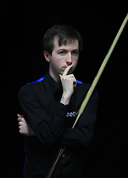 Scott Donaldson during his match with Li Hang on day seven of the 2017 Betway UK Championships at the York Barbican.