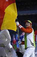 Deutsche Fahnentraegerin © Thomas Oswald/EQ Images