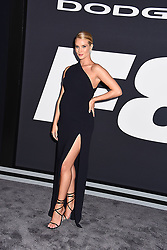 """Rosie Whiteley Huntington attends The World Premiere of """"The Fate of the Furious"""" on April 8, 2017 at Radio City Music Hall in New York, New York, USA. *** Please Use Credit from Credit Field ***"""