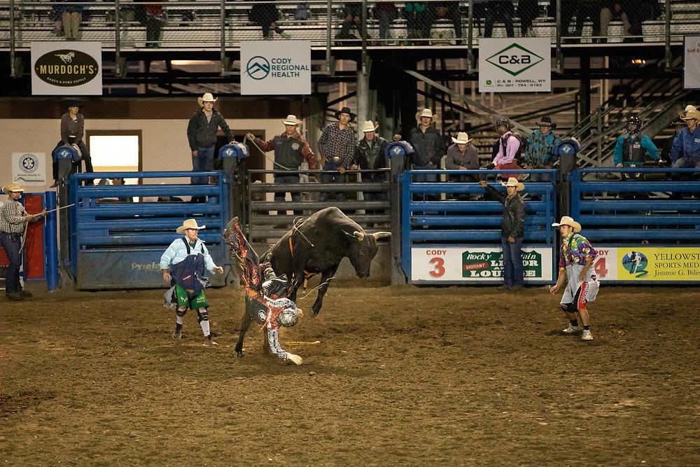 Rodeo, Cody, Wyoming, USA
