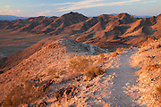 Some of the single track trails that make up the Bootleg Canyon mountain biking area, Boulder City, Nevada.