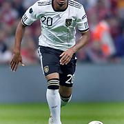 Germany's Jerome BOATENG during their UEFA EURO 2012 Qualifying round Group A matchday 19 soccer match Turkey betwen Germany at TT Arena in Istanbul October 7, 2011. Photo by TURKPIX