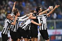 Esultanza Juventus Campione d'Italia - Juventus wins italian Championship <br /> Genova 02-05-2015 Stadio Ferraris, Football Calcio Serie A 2014/2015 Sampdoria - Juventus Foto Andrea Staccioli / Insidefoto