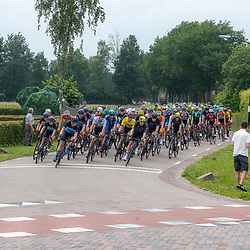 VELDHOVEN (NED) July 4 <br /> CYCLING <br /> The first race of the Schwalbe Topcompetition the Simac Omloop der Kempen<br /> Peloton nabij Reusel