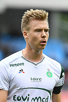 Alexander Soderlund of Saint Etienne during the Ligue 1 match between Troyes Estac and AS Saint Etienne at Stade de l'Aube on October 1, 2017 in Troyes, . (Photo by Anthony Dibon/Icon Sport)