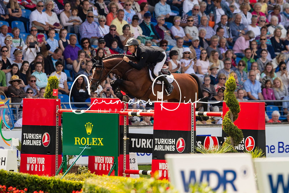 Greve Willem, NED, Carambole<br /> CHIO Aachen 2019<br /> Weltfest des Pferdesports<br /> © Hippo Foto - Dirk Caremans<br /> Greve Willem, NED, Carambole