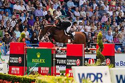 Greve Willem, NED, Carambole<br /> CHIO Aachen 2019<br /> Weltfest des Pferdesports<br /> © Hippo Foto - Dirk Caremans<br /> Greve Willem, NED, Carambole