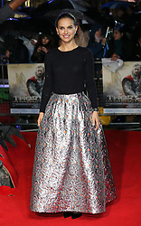 Natalie Portman arriving for the premiere of Thor: The Dark World, in London, Tuesday, 22nd October 2013. Picture by Stephen Lock / i-Images