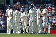 England questioning the DRS Decision during the fourth day of the 4th SpecSavers International Test Match 2018 match between England and India at the Ageas Bowl, Southampton, United Kingdom on 2 September 2018.