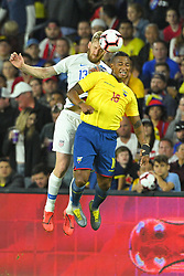 March 21, 2019 - Orlando, Florida, U.S.- US defender TIM REAM (13) and Ecuador midfielder ANTONIO VALENCIA (16) in action during an international friendly between the US and Ecuador at Orlando City Stadium. (Credit Image: © Scott A. Miller/ZUMA Wire)