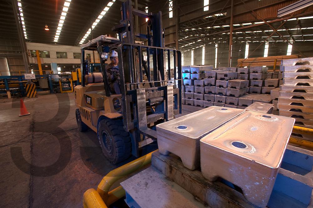 Aleazin - planta de aleaciones de Zinc, parte de Industrias Peñoles