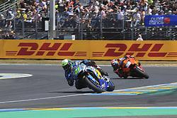 May 20, 2018 - Le Mans, France - 21 FRANCO MORBIDELLI (ITA) EG 0 0 MARC VDS (BEL) HONDA RC213V (Credit Image: © Panoramic via ZUMA Press)